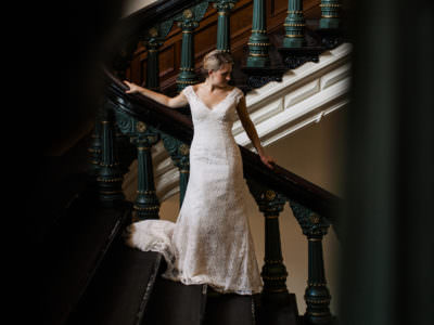 Bridal Portraits at the Texas State Capitol in Austin, Texas