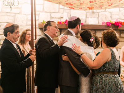 A Jewish Wedding at The Inn at Wild Rose Hall in Austin, Texas