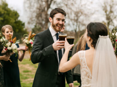 A classic winter wedding at Barr Mansion in Austin, Texas