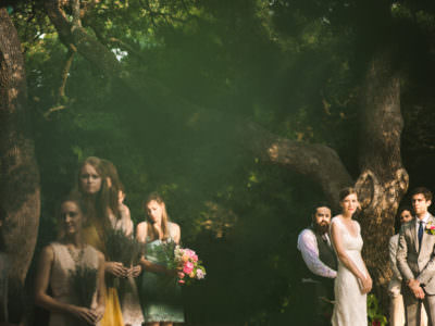 A summer wedding at Mercury Hall in Austin, Texas
