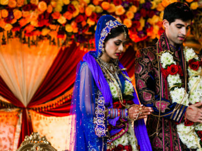A Traditional Hindu wedding ceremony in Houston, Texas