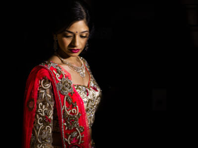 A Colorful Indian Wedding Reception in Houston, Texas