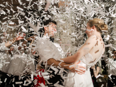 An elegant wedding at The Washington Athletic Club in Seattle, Washington