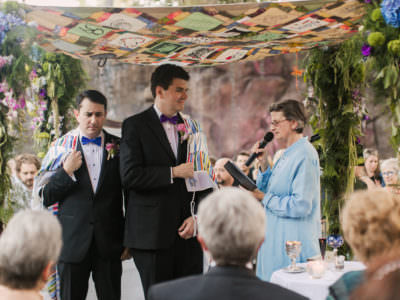 A Gay Wedding at Calimigos Ranch in Malibu, California