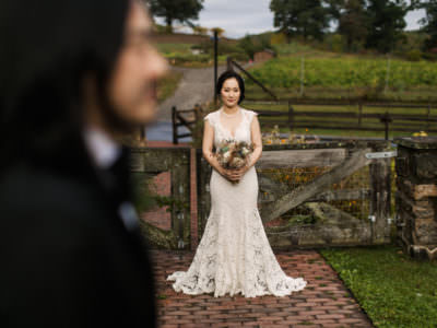 A Farm wedding at Blue Hill at Stone Barns in Tarrytown, New York