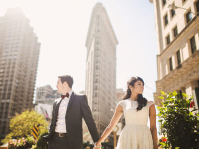 A manhattan Engagement Session in New York