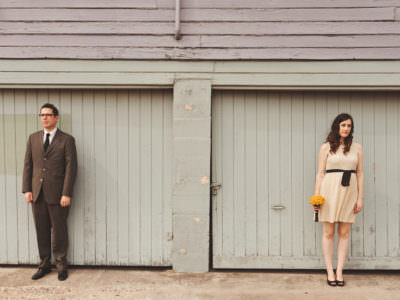 An intimate elopement at city hall in Austin, Texas