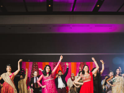 Indian Wedding Sangeet at George R Brown Convention Center in Houston, Texas