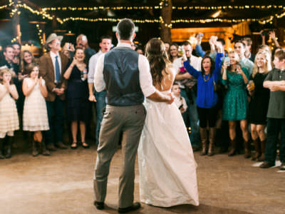 A summer camp wedding at Moon River Ranch in Austin, Texas
