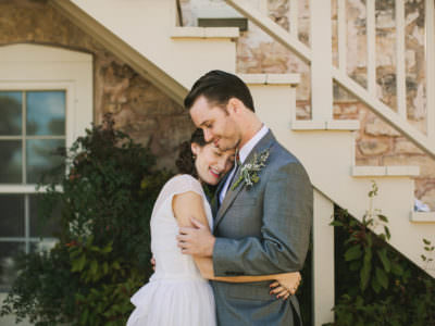 A Ruff Haus Wedding in fredericksburg, texas