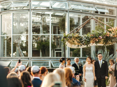 A Beautiful outdoor jewish wedding at The Greenhouse at Driftwood in Austin, Texas